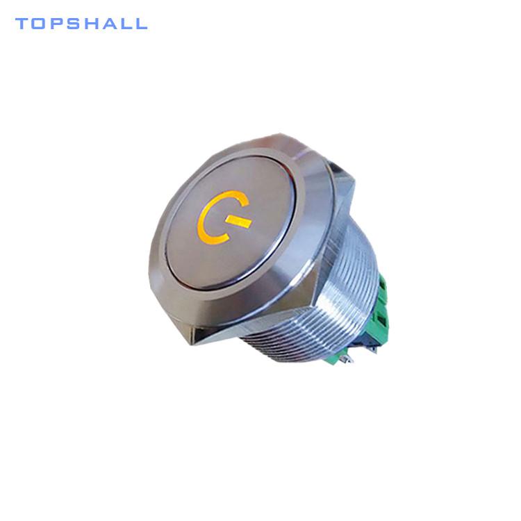 25mm metal switch MPB25-SL(R)6P-FEXX-S8