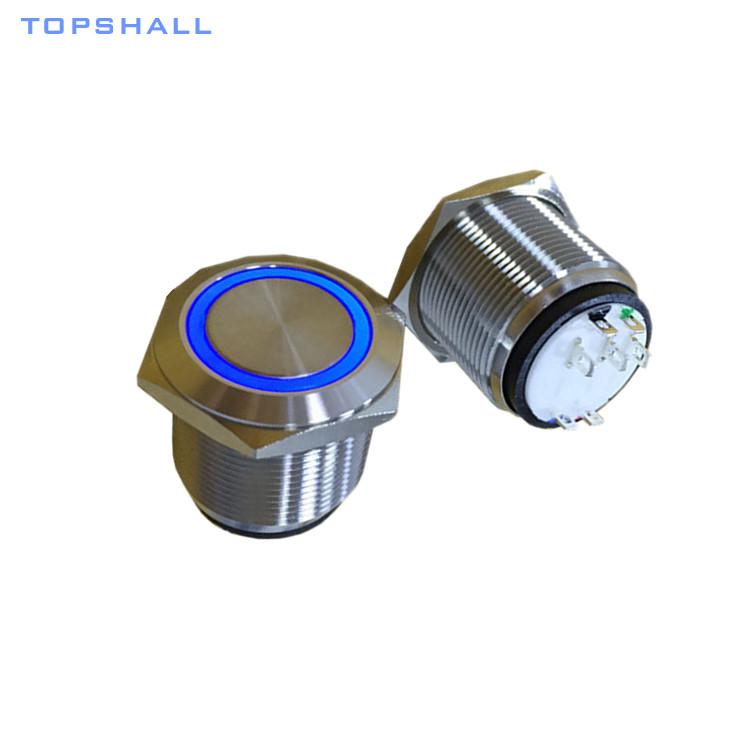 22mm switch push button MPB22-SL(5)P-FRXX-S8
